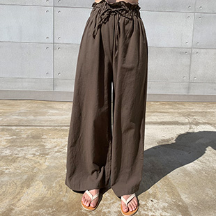 Gourmming Linen Bending Pants