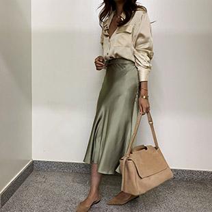 Limacco Satin Skirt