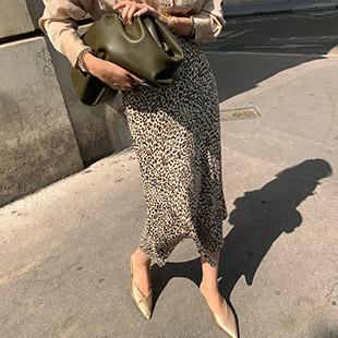 Beryldi Leopard Skirt